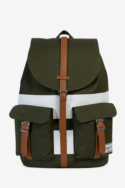Herschel Supply Co Dawson Backpack Green/White/Tan