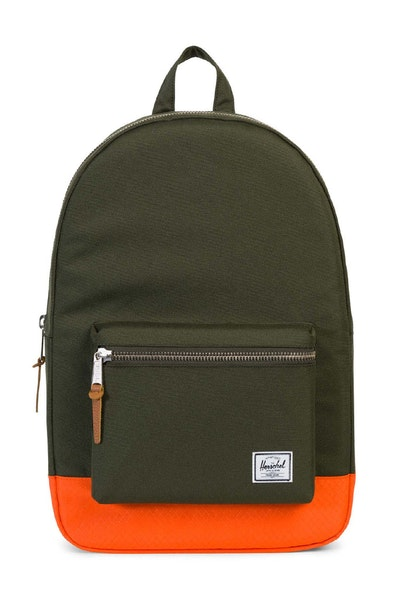 Herschel Bag Co Settlement Backpack Green/Orange