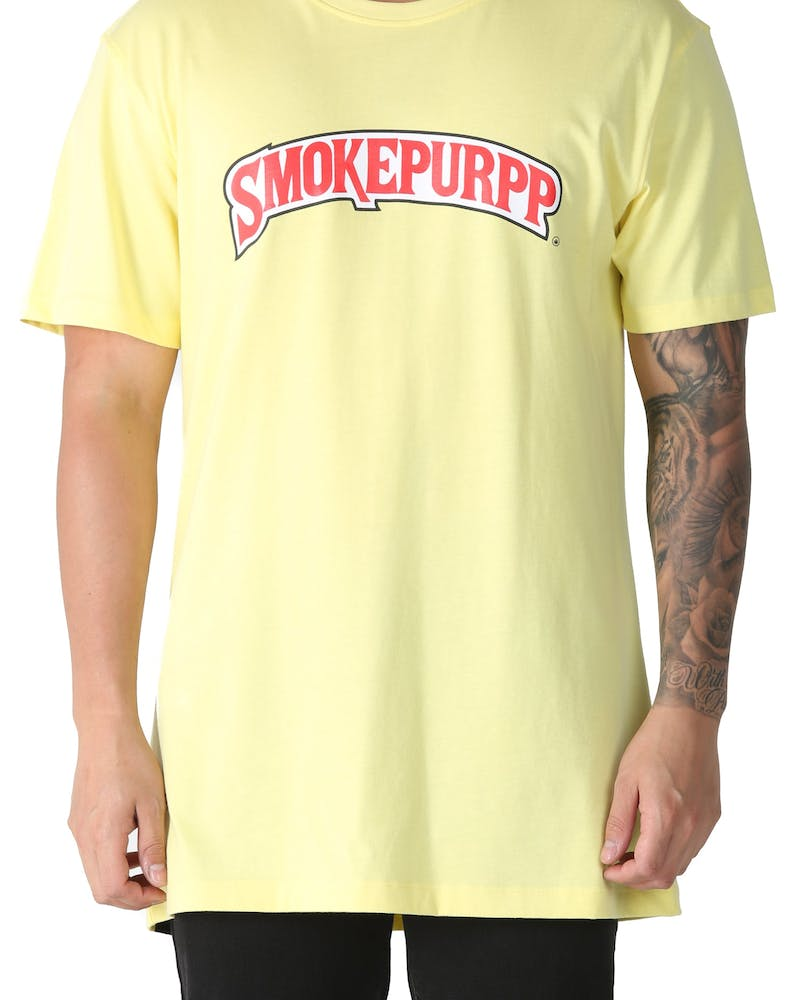 Goat Crew Smoke Purpp Tee Yellow