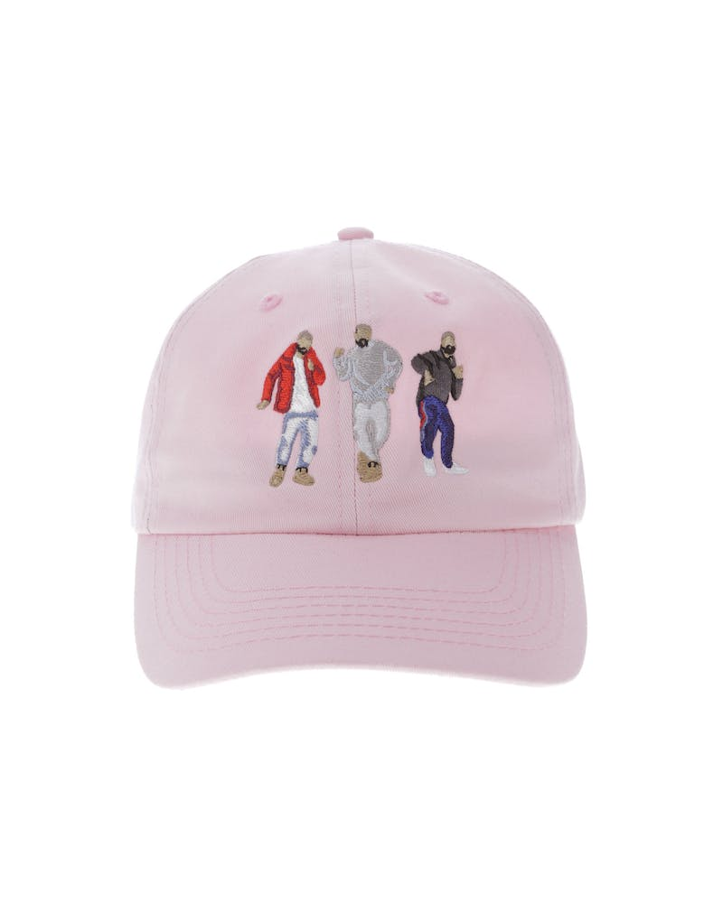 Goat Crew Drizzy Dance Strapback Pink