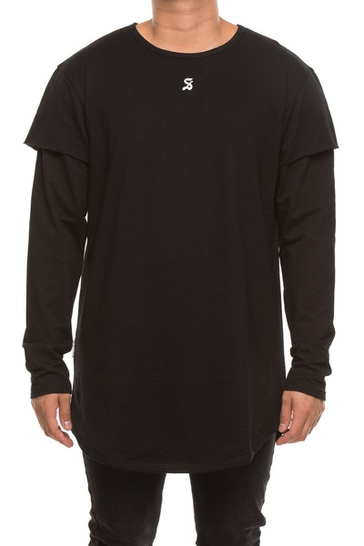 Saint Morta Battlefield Long Sleeve Tee Black