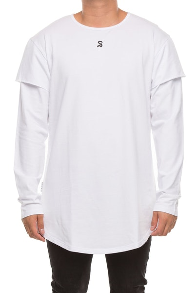 Saint Morta Battlefield Long Sleeve Tee White