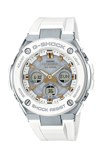 G-Shock GST-S300-7ADR White/Gold