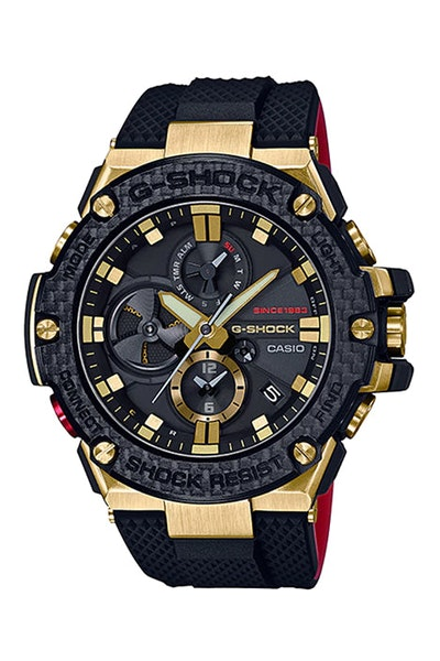 G-Shock GST-B100TFB-1ADR Black/Gold