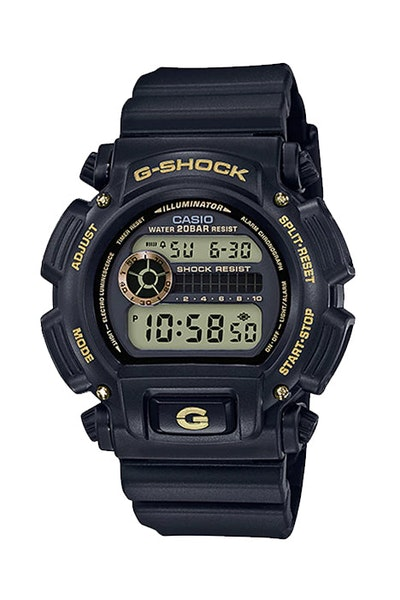 G-Shock DW9052GBX-1A9 Black/Gold