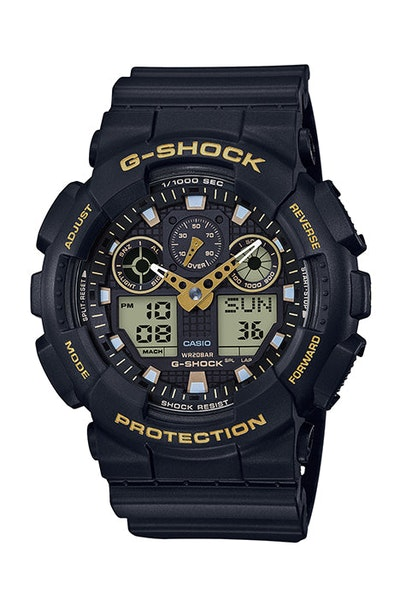 G-Shock GA-100GBX-1A9DR Black/Gold