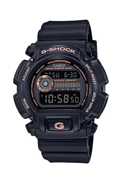 G-Shock DW9052GBX-1A9 Black/Rose Gold