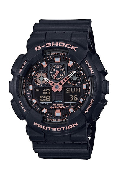 G-Shock GA-100GBX-1A4DR Black/Rose Gold
