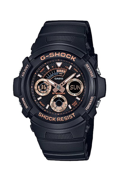 G-Shock AW591GBX-1A4 Black/Rose Gold