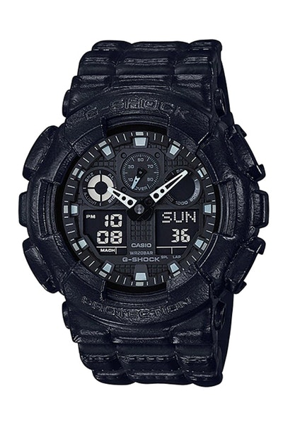 G-Shock GA-100BT-1ADR Black/Black