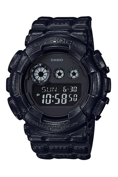 G-Shock GD-120BT-1 Black/Black