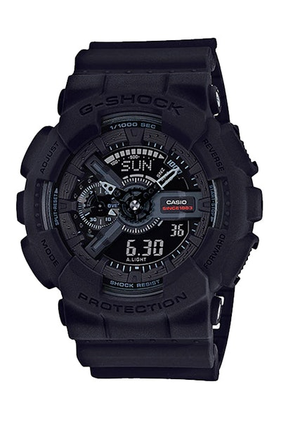 G-Shock 35th Anniversary GA135A-1A Black/Black