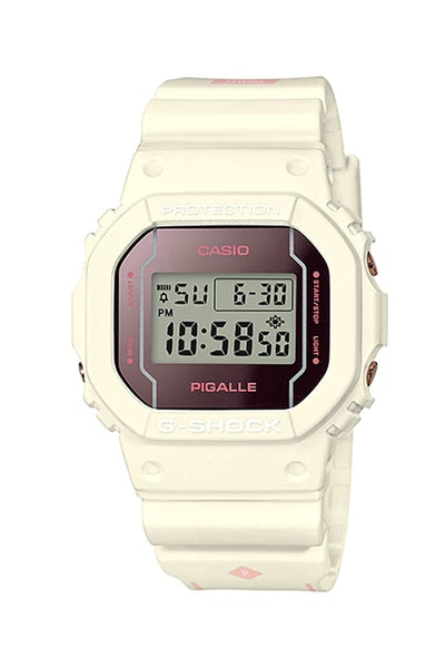 Pigalle x G-Shock DW-5600 2017 Limited Edition White/Pink