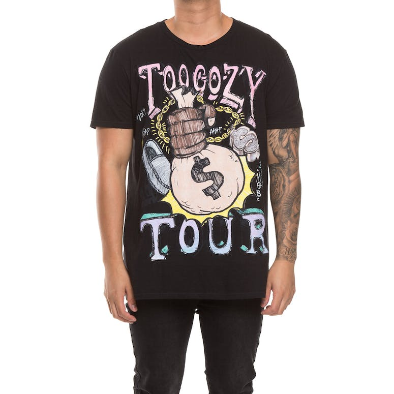 A$AP Mob Tour Graphic S/S Tee Black