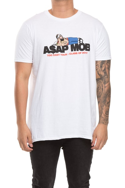 A$AP Mob Too Cozy Graphic S/S Tee White