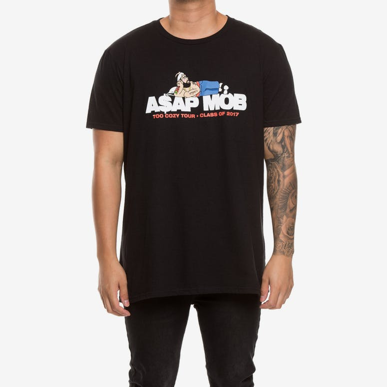 A$AP Mob Too Cozy Graphic S/S Tee Black
