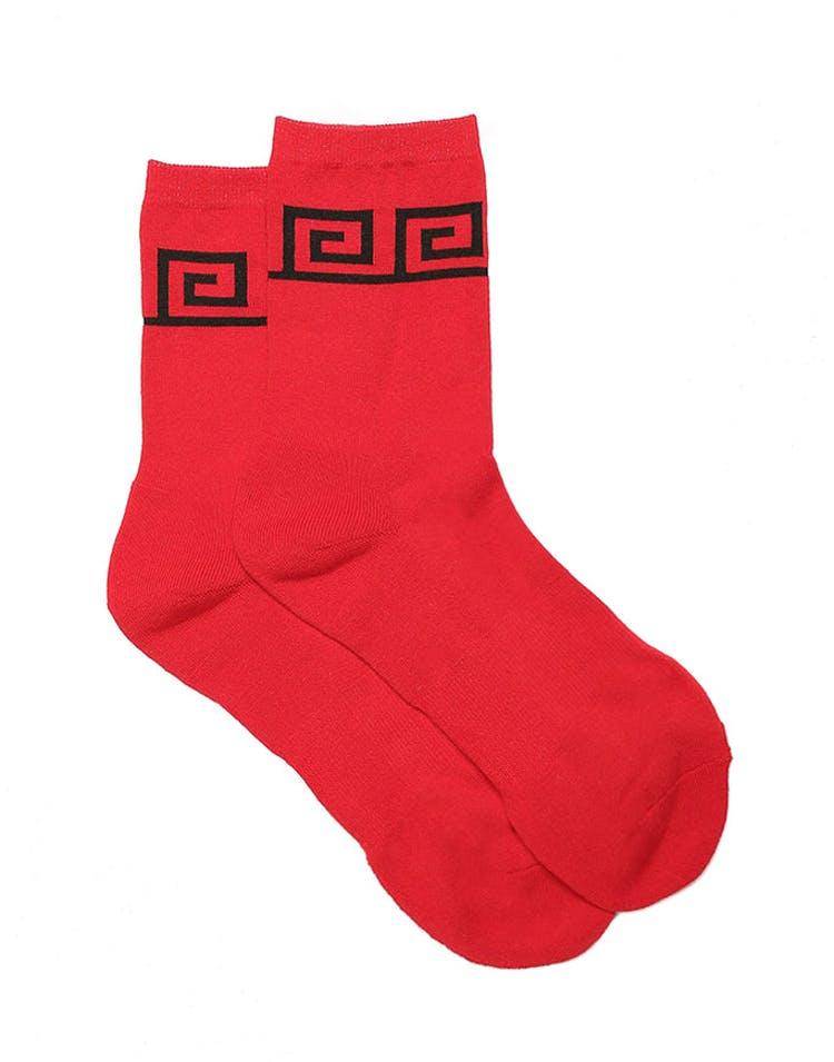 49f6eaf8 Last Kings Scribe Sock Red – Culture Kings