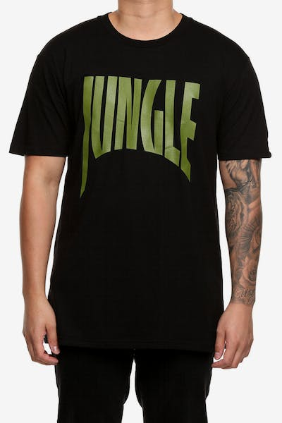French Montana Jungle 2 Tee Black