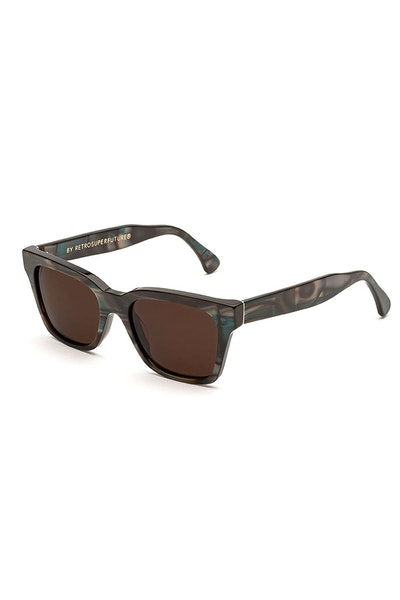 Super Future America Acqua Santa Brown/Blue