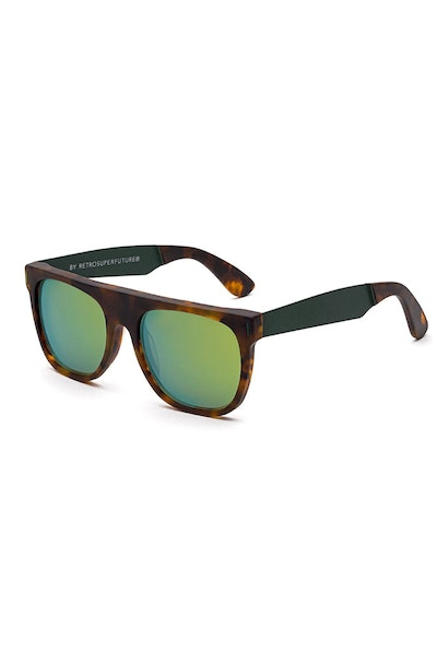 Super Future Flat Top Francis Squadra Tortoise/Green