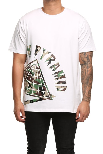 Black Pyramid Big Logo T-Shirt White