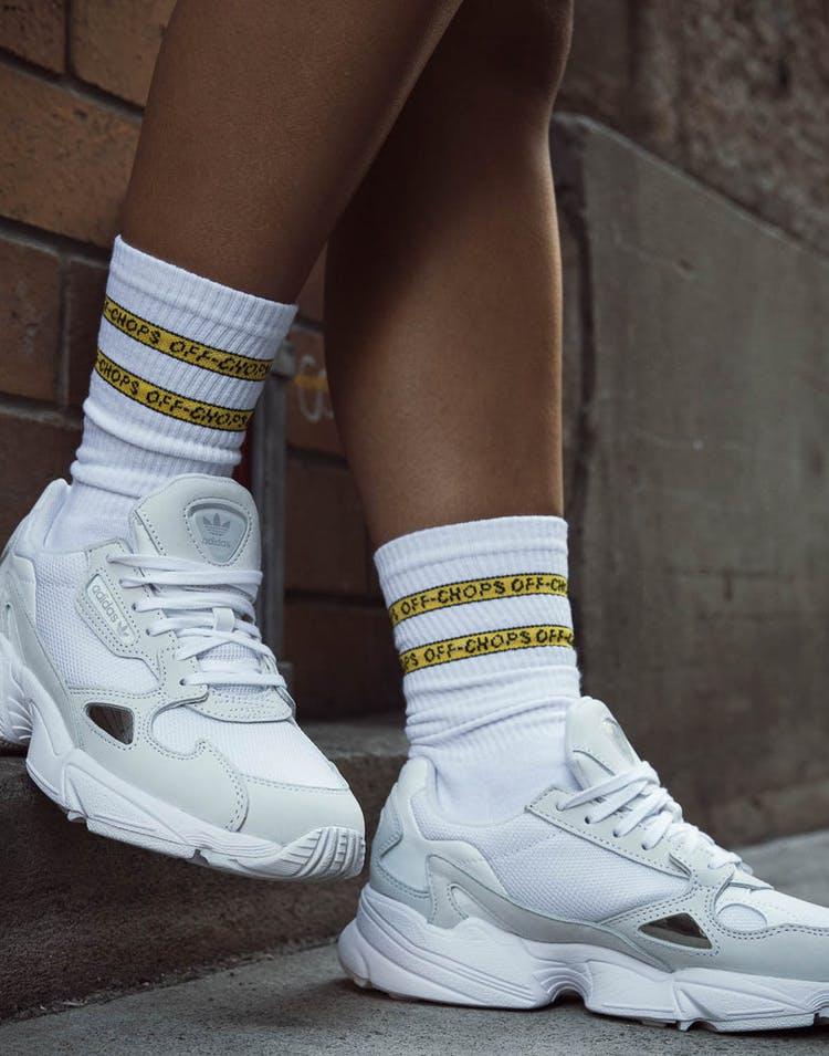 0d2dab774 Goat Crew Off Chops Socks White – Culture Kings