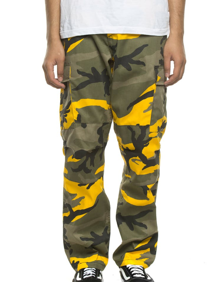 Rothco Tactical BDU Pant Yellow Camo
