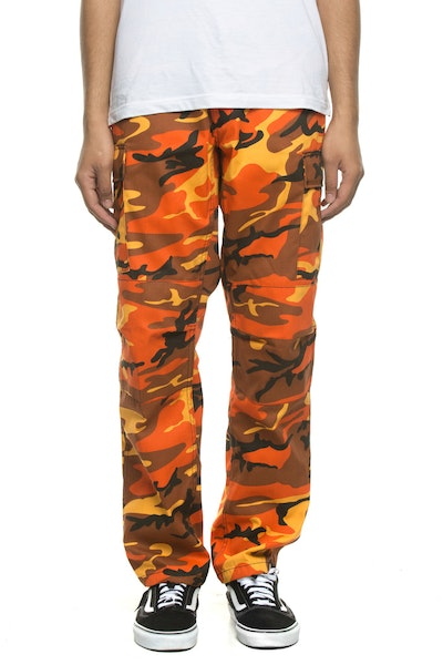 Rothco Tactical BDU Pant Orange Camo