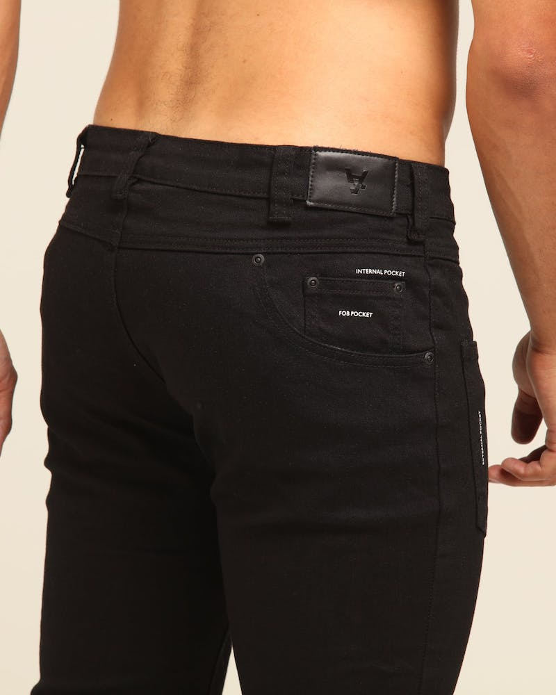 The Anti-Order Back To Front Jean Black