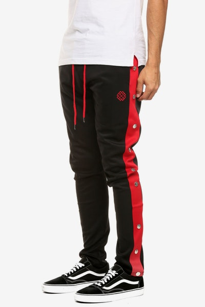 Eternity BC/AD Tear Away Track Pant Black