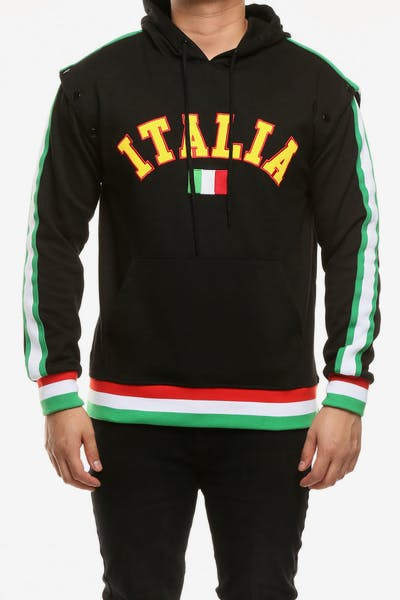 Eternity BC/AD Italia City Detach Sleeve Hood Black/Multi-coloured