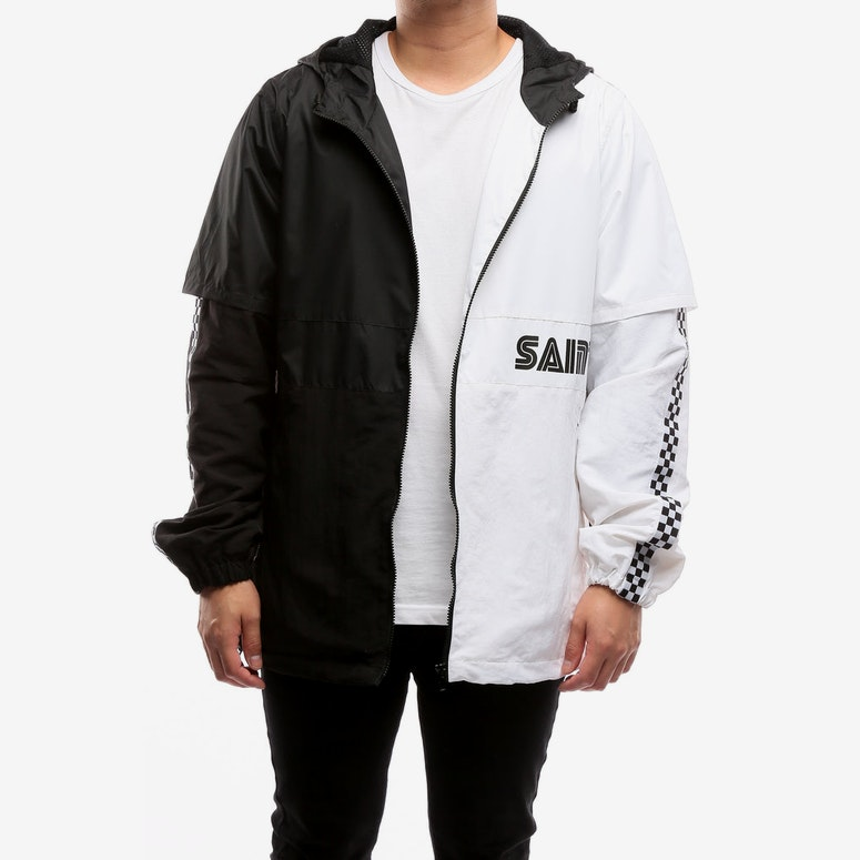 best place cheap for discount pre order Saint Morta Mach One Windbreaker Black/White