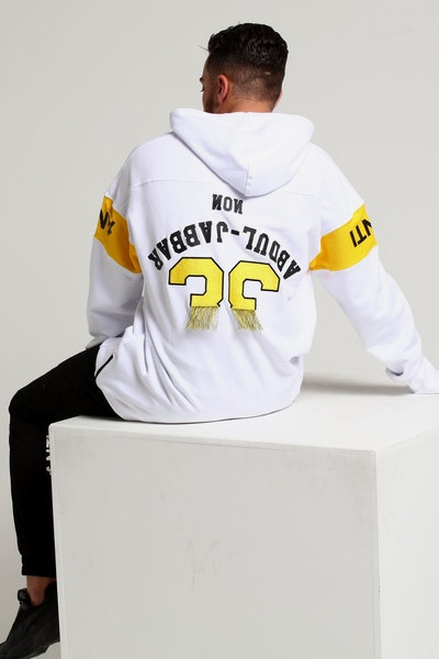 The Anti-Order Non Jabbar Human Hoody White