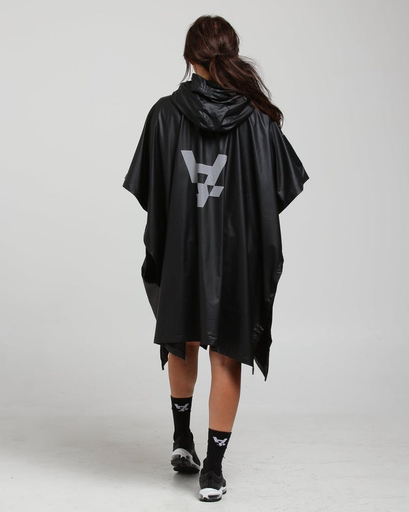 The Anti-Order Ghostface Poncho Black