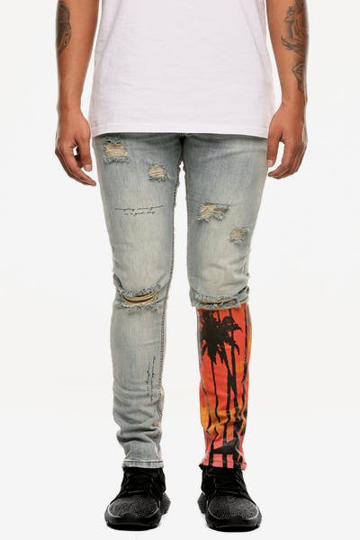 "Serenede ""The World Chico"" Jeans Light Blue Wash"