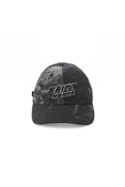 Saint Morta Crews Strapback Acid Black