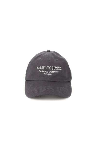 Saint Morta Parcae Country Strapback Charcoal