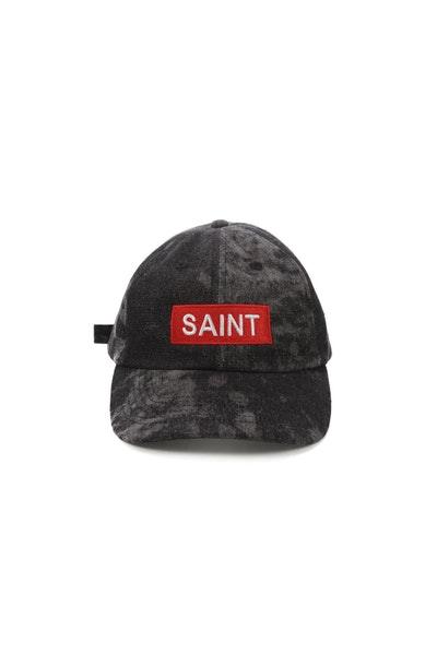 Saint Morta Revel Strapback Acid Black