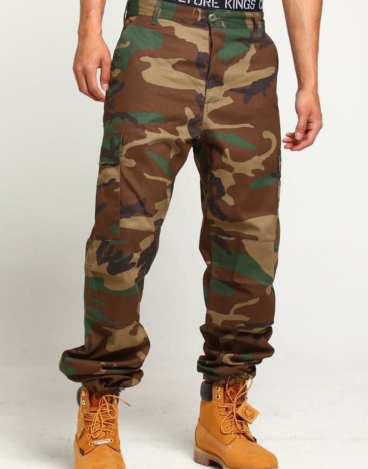low cost reputable site fashion style Rothco Tactical BDU Pant Woodland Camo