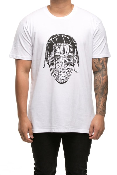 GOAT CREW SCOTT EXPRESSION STAPLE TEE White
