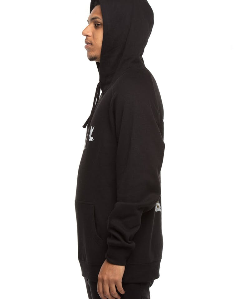 Migos Culture II Dove Column Hoodie Black