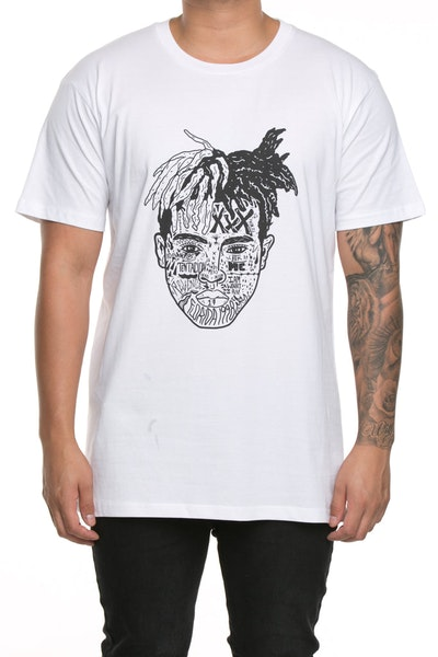 Goat Crew XXX Expression Staple Tee White