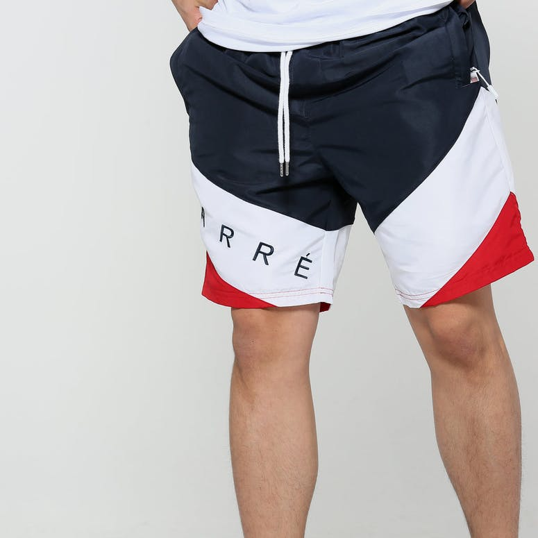 Carré Lafayette Shorts Navy/White/Red