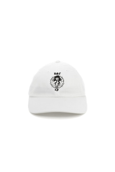 Rats Get Fat Russian Girl Strapback Off White