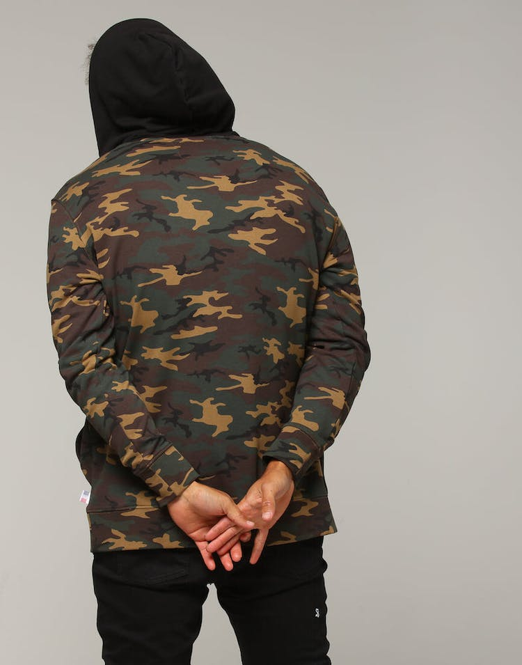 purchase cheap ca809 21bb8 Carré Opposed Hood Camo/Black