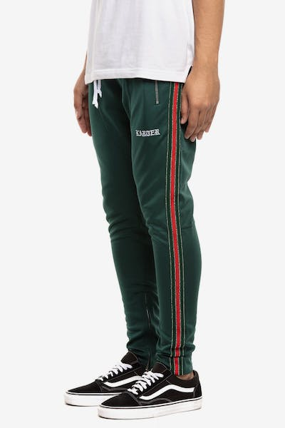 Karter Collection Floyd Track Pant Green