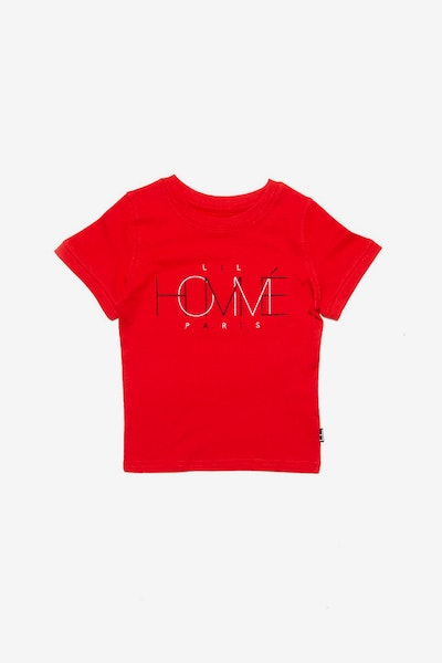 Lil Homme Link Up De Base SS Tee Red