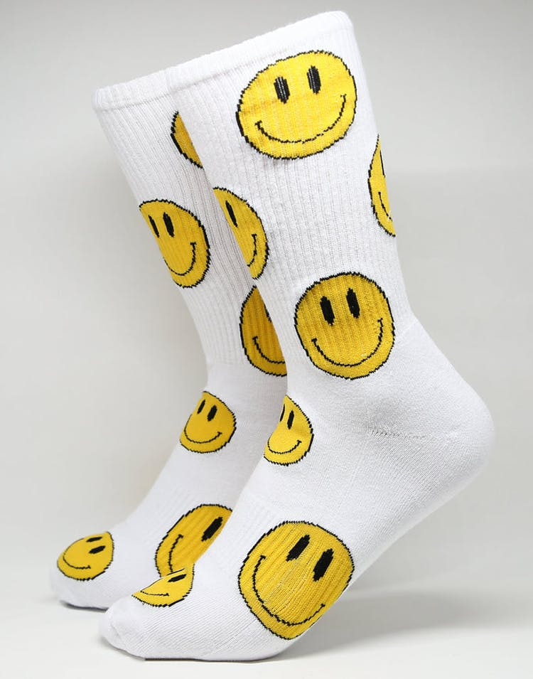 Goat Crew Feel Good Sock White