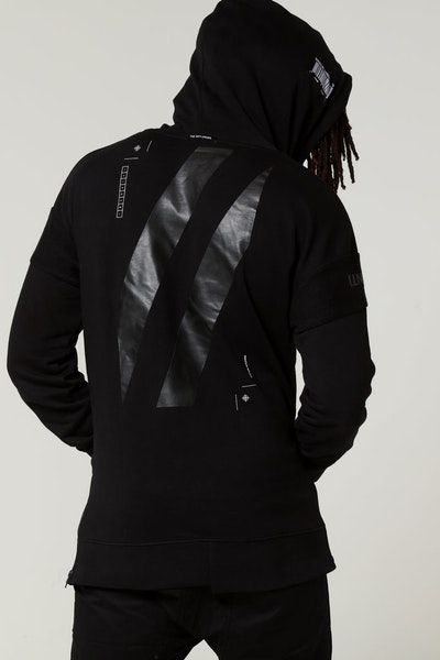 The Anti-Order Anti Sport Hoody Black/White