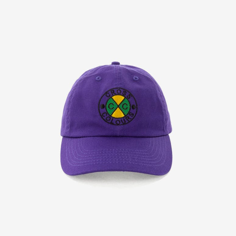 Cross Colours LA Classic Embroidered Dad Hat Purple – Culture Kings 21ac992b636